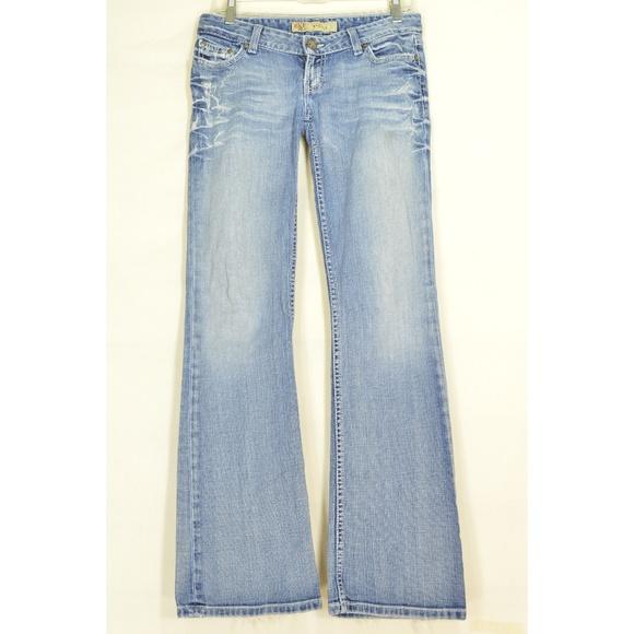 BKE Denim - BKE jeans 27 x 33.5 Stella slouch straight heavy d